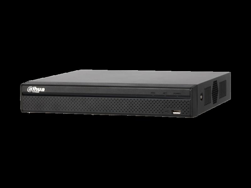Dahua NVR2104HS-P-4KS2 4 Kanal Kompakt 1U 4PoE Lite 4K H.265 Network Video Kaydedici