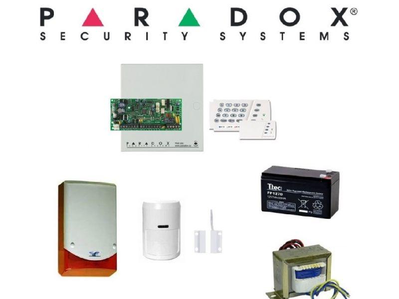 Paradox SP4000 Kablolu Alarm Seti