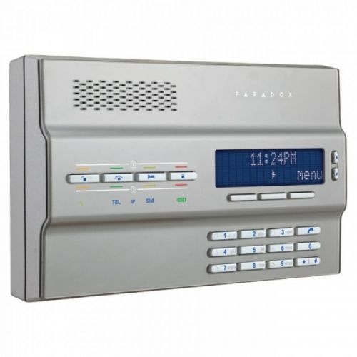 Paradox MG6250 64 Bölge Kablosuz Alarm Konsolu (Gümüş)